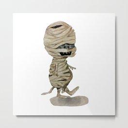 Walk like a Mummy Metal Print