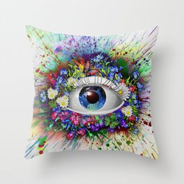 Multicolor Look Throw Pillow