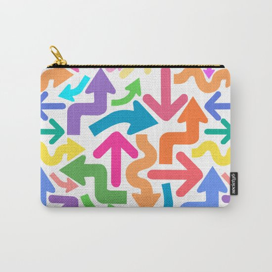 Arrow color Carry-All Pouch