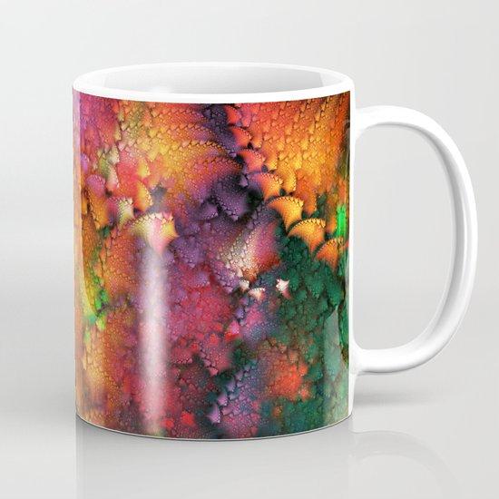 Dragon's tail pattern Mug