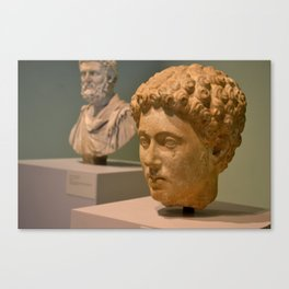 Marble Sculpture Canvas Print