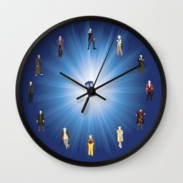 Time Lords Wall Clock