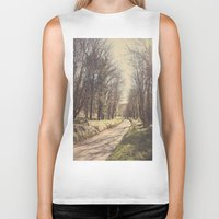 road Biker Tanks featuring Road ∆ by Visceral Angst