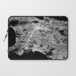 Los Angeles map Laptop Sleeve