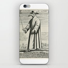 Plague Doctor iPhone Skin