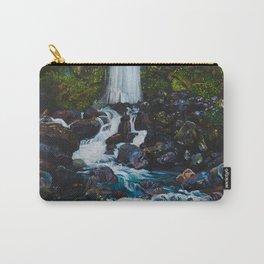 Dawson Falls, Mt Taranaki, New Zealand Carry-All Pouch