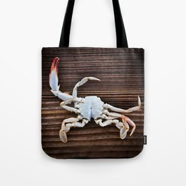 Crabby Tote Bag