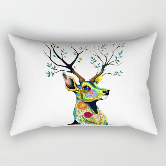 -King of Forest- Rectangular Pillow