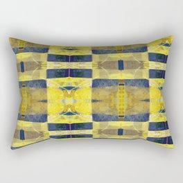 first sunrays_pattern_no2 Rectangular Pillow