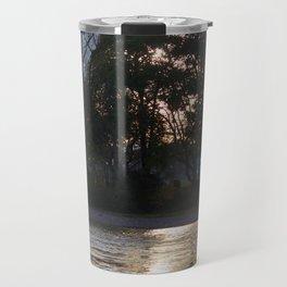 Sunset over River Ness Inverness Travel Mug