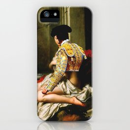 Courtly Love  iPhone Case