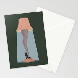 Leg Lamp Stationery Cards