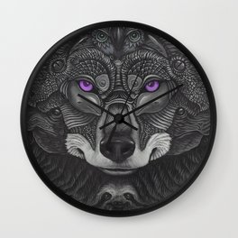 Lobo Prince Wall Clock