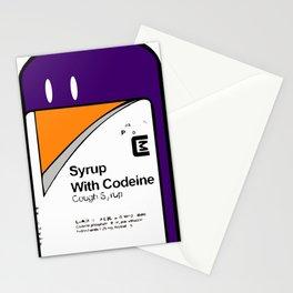 Codeine Bottle Cartoon Stationery Cards
