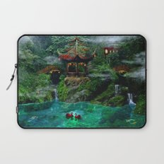 Tale of the Red Swans Laptop Sleeve