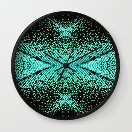 The Peacock Butterfly Wall Clock