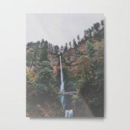 Majestic Multnomah Falls Metal Print