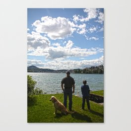 Doggy's Day Out Canvas Print