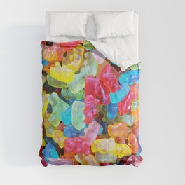 Gummy Bear Don't Care Comforters