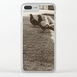Out on the Town Clear iPhone Case