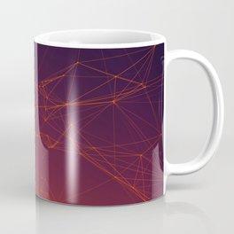Sunset gradient connection Coffee Mug