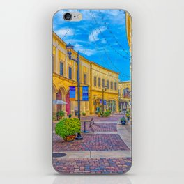 Street Scape in Yellow iPhone Skin