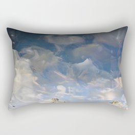 Semiotic Sky  Rectangular Pillow