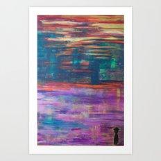 The Colorman. Art Print