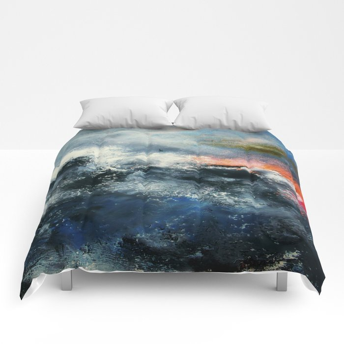 Red Skies Comforters