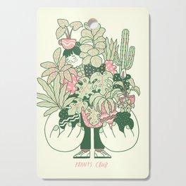 Plants Club (girl) Cutting Board