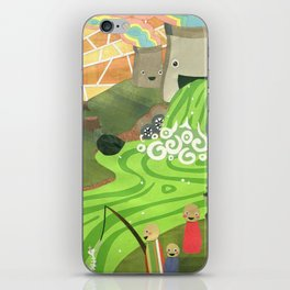 The Beauty of Pollution iPhone Skin
