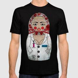 Dirty Nurse Matryoshka/Nesting Doll T-shirt