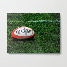 Rugby Time Metal Print