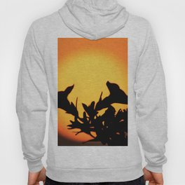 Flower Silhouettes Hoody