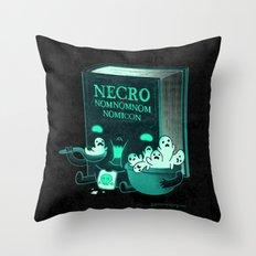 Necronomnomnomicon Throw Pillow