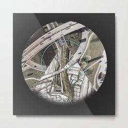 Arterials Metal Print