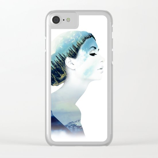 Women Clear iPhone Case