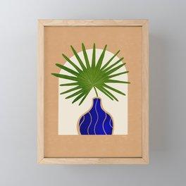 Fan Palm 1 Framed Mini Art Print