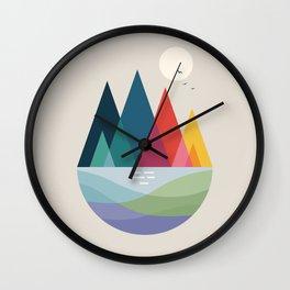 Somewhere Wall Clock