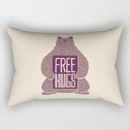 Free Hugs Bear Rectangular Pillow