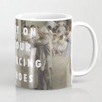 degas Mugs featuring La Classe de Chaussures by ARTYcmonkeys