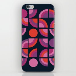 Outta Sight - 70s retro throwback trendy vintage style geometric 1970's iPhone Skin