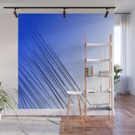 jungle wild design lines ethnic jpg    BLUE Wall Mural