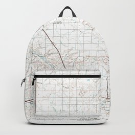 MT Great Falls North 268415 1976 topographic map Backpack