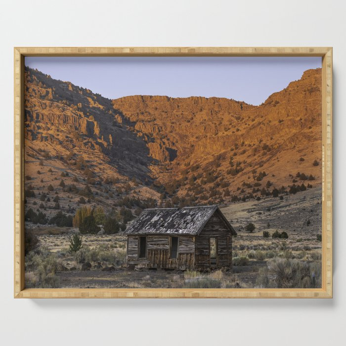 Catlow Cabin Serving Tray