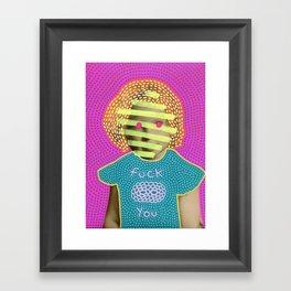 Nasty Girl 002 Framed Art Print