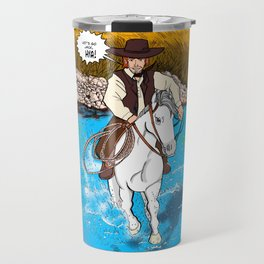 Frontier Tales: Jimmy and his horse Jack Travel Mug