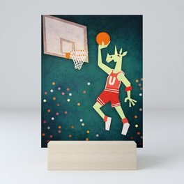 Unicorns Can Jump Mini Art Print