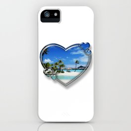 I Love Bora Bora iPhone Case