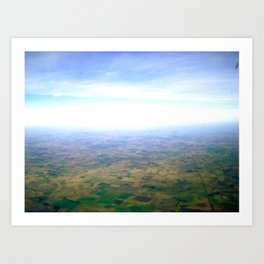 Skies Over Argentina  Art Print